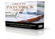 Create your own Paycheck Stubs!