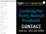 Party Rental Los Angeles