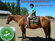 California summer camps with horses