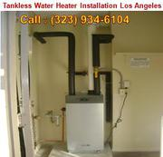 Correct tankless water heater Los Angeles