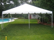 15 x 15 Complete Frame Tent at Larry Hoffman Chair