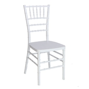 White Resin Chiavari Chair of Folding Chairs Tables Discount