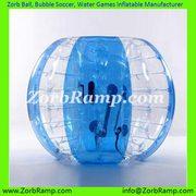 Zorb Ball Human Hamster Ball Bubble Soccer Water Walker   ZorbRamp.com