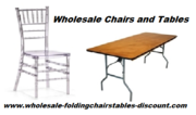 Wholesale Chairs and Tables on Discount from Larry Harvey