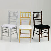 The Benefits of Chiavari Chairs for Your Event Space