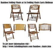 Bamboo Folding Chairs at 1st Folding Chairs Larry Hoffman