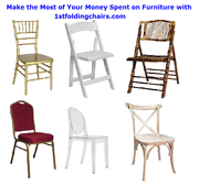 Make the Most of Your Money Spent on Furniture with 1stfoldingchairs