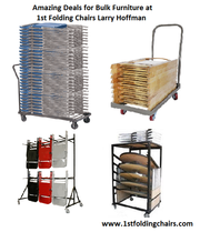 Amazing Deals for Bulk Furniture at 1st Folding Chairs Larry Hoffman