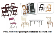 Wholesale Chairs and Tables Discount Larry Hoffman Gives Best Shipping