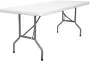 30 by 72 Inch Plastic Folding Table