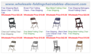 Free Shipping Black Polly Folding Chairs at Larry Hoffma