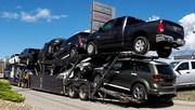Enclosed car carrier shipping companies at VAN ALSTYNE,  TX