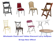 Wholesale Chairs and Tables Discount Larry Hoffman Brings New Offers!