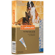 Advantage Multi (Advocate) for Dogs & Puppies with Free Shipping