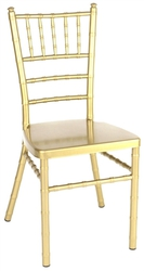 Gold Aluminum Chiavari Chair - Free Cushion
