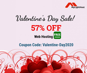 57% Discount with Free Domain!